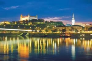 River cruise at night