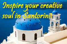 Artists Retreat Santorini Greece